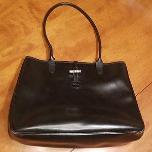 Longchamp large black bag